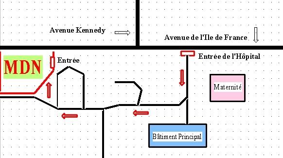 plan Hôpital N°2