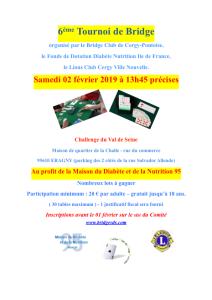 6ème Tournoi de Bridge février 2019 PDF
