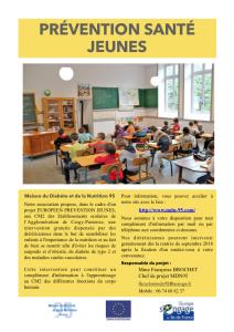 Flyer CM2 européen PDF